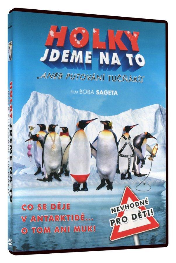 Holky jdeme na to aneb putování tučňáků (DVD)