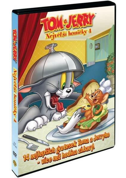 Tom a Jerry: Největší honičky 4 (DVD)