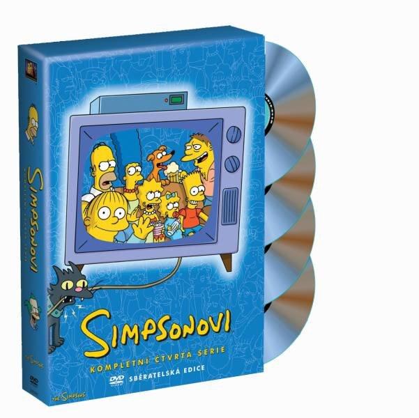 Simpsonovi 4. sezóna 4xDVD (22 dílů)