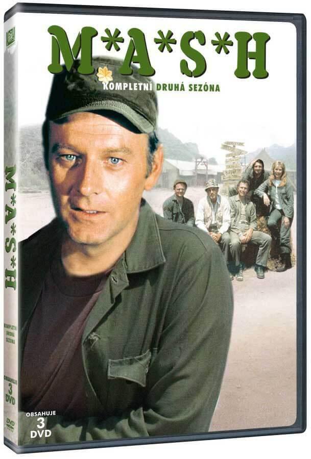 MASH - 2. sezóna (3 DVD)