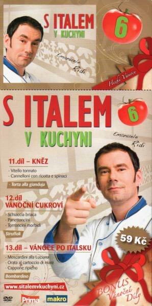 S italem v kuchyni 6 (11.-13. díl) (DVD) (papírový obal)