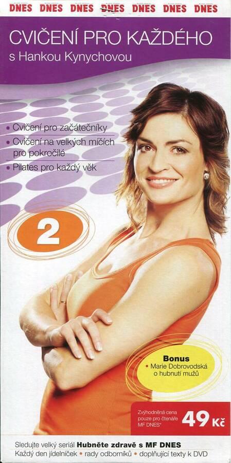 Cvičení pro každého s Hankou Kynychovou 2 (DVD) (papírový obal)