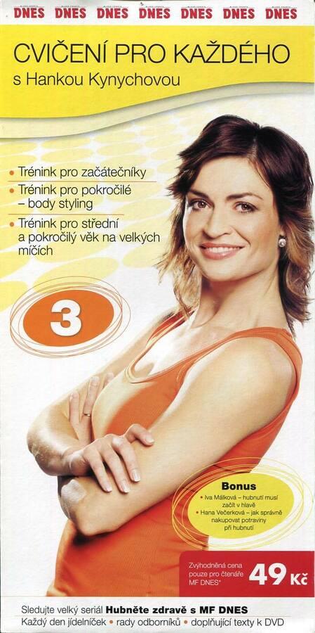 Cvičení pro každého s Hankou Kynychovou 3 (DVD) (papírový obal)
