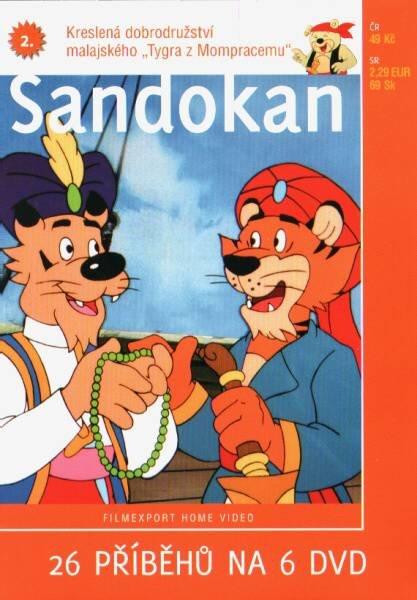 Sandokan 2 (animovaný) (DVD) (papírový obal)