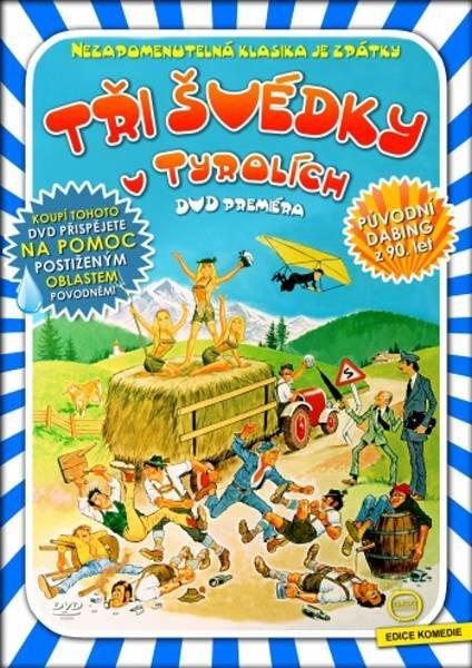 Tři Švédky v Tyrolích (DVD) (papírový obal)