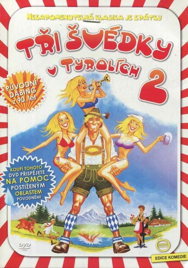 Tři Švédky v Tyrolích 2 (DVD) (papírový obal)