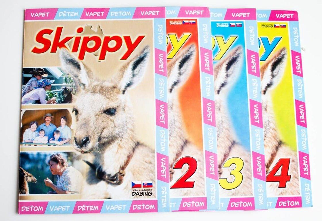 Skippy 1-4 kolekce (4 DVD) (papírový obal)