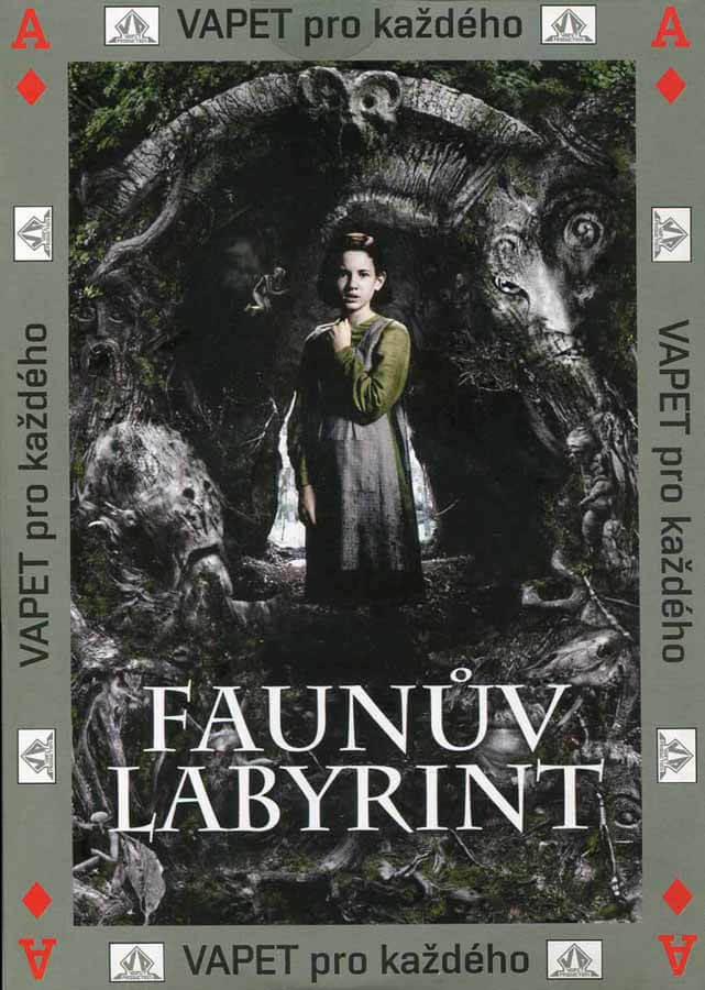 Faunův labyrint (DVD) (papírový obal)
