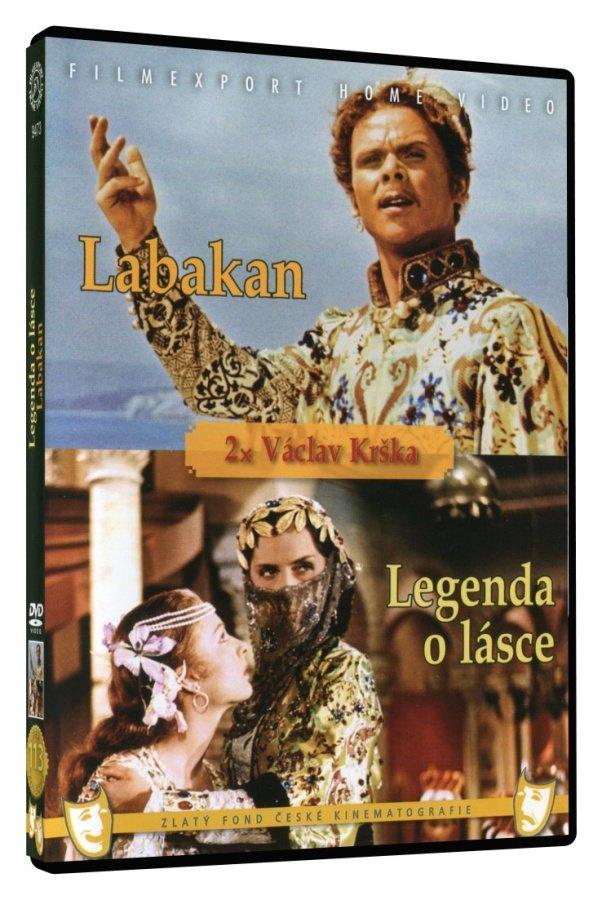 Legenda o lásce / Labakan (DVD)