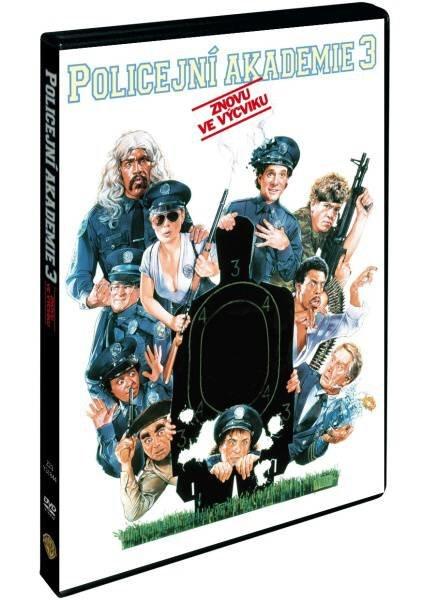 Policejní akademie 3: Znovu ve výcviku (DVD)