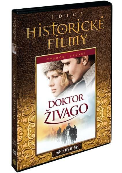 Doktor Živago (2 DVD) - edice historických filmů