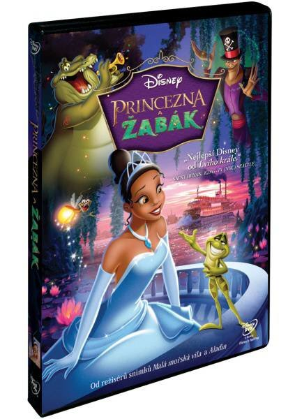Princezna a žabák (DVD)