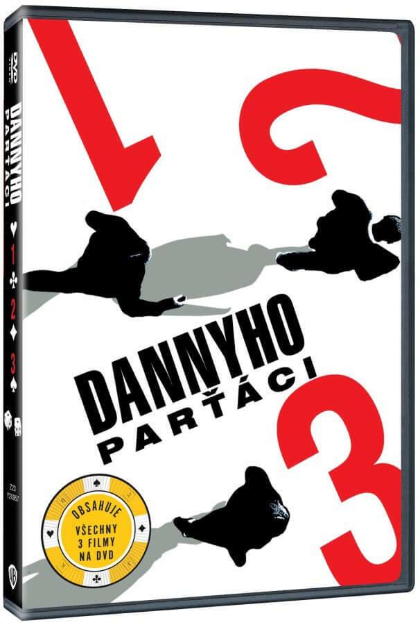 Dannyho parťáci KOMPLET - 3xDVD