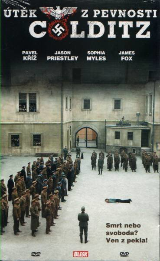Útěk z pevnosti Colditz (DVD) (papírový obal)