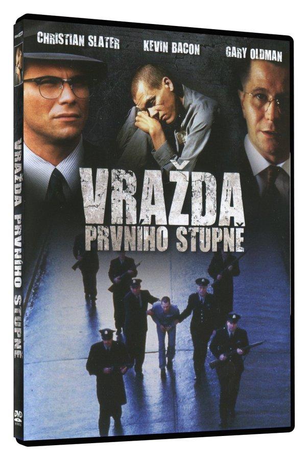 Vražda prvního stupně (DVD)