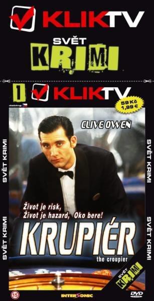 Krupiér - edice svět krimi (DVD) (papírový obal)