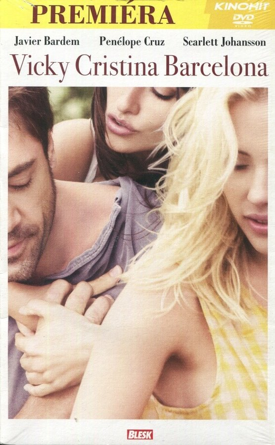 Vicky Cristina Barcelona (DVD) (papírový obal)