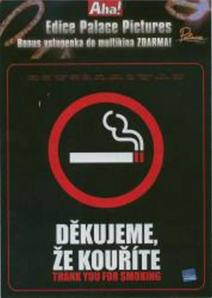 Děkujeme, že kouříte (DVD) (papírový obal)