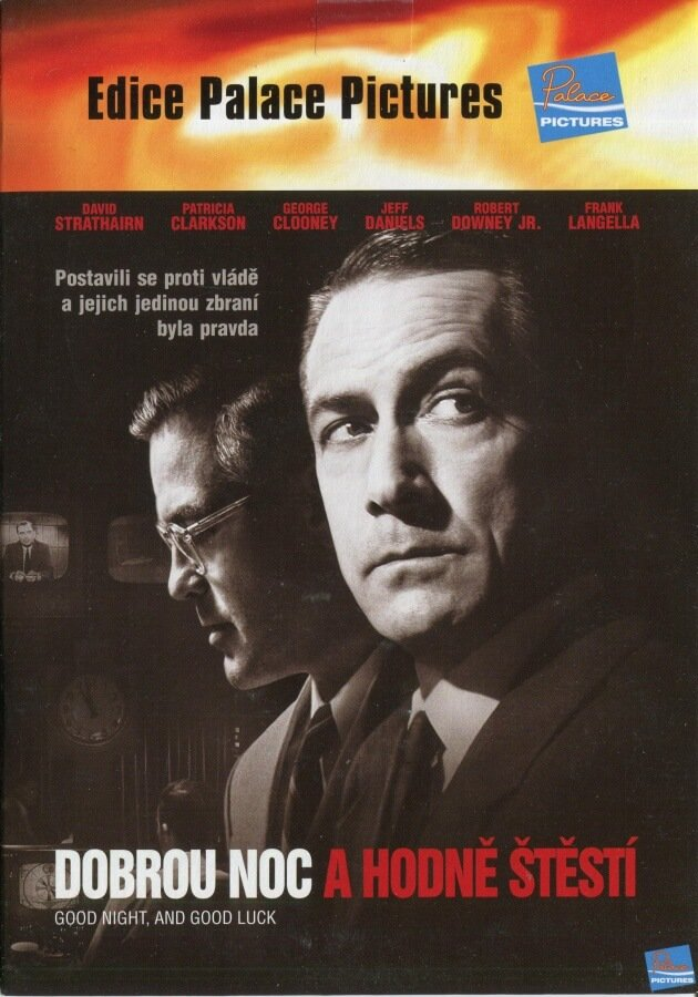 Dobrou noc a hodně štěstí (DVD) (papírový obal)