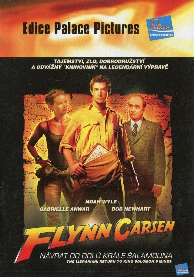 Flynn Carsen: Návrat do dolů krále Šalamouna (DVD) (papírový obal)