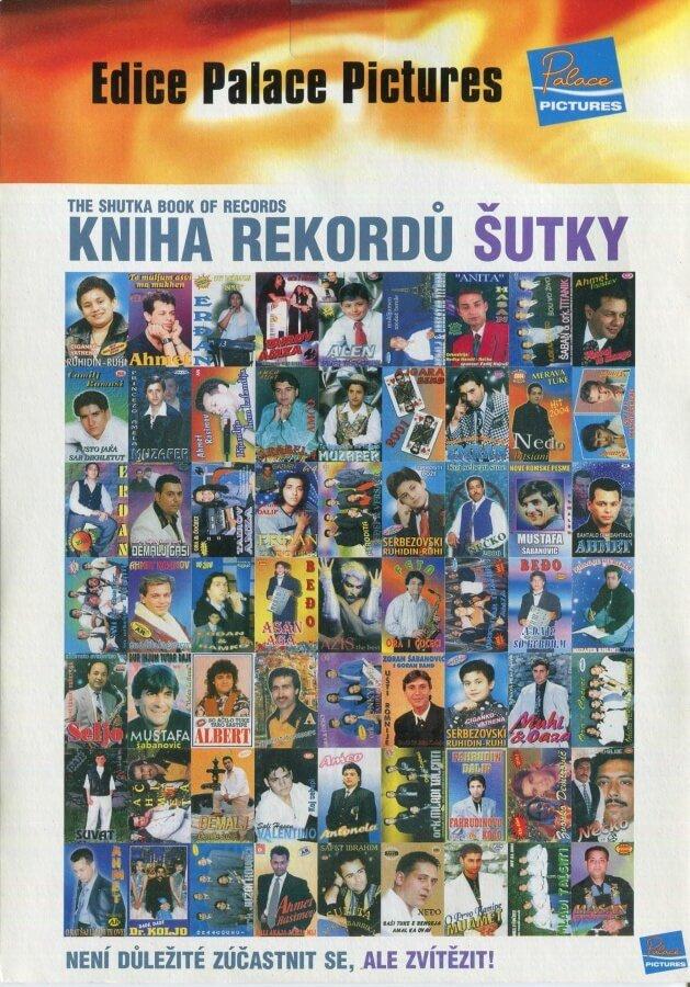 Kniha rekordů Šutky (DVD) (papírový obal)