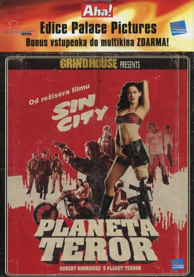 Planeta Teror (DVD) (papírový obal)