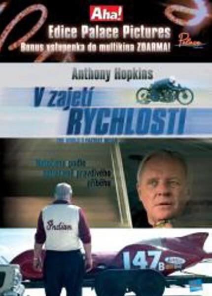 V zajetí rychlosti (DVD) (papírový obal)