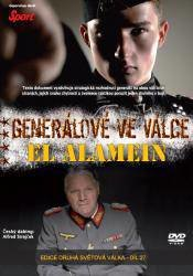 Generálové ve válce (2. díl) - El Alamein (DVD) (papírový obal)