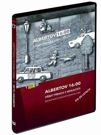 Albertov 16:00 - přímý přenos z minulosti - 4xDVD