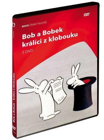 Bob a Bobek králíci z klobouku (39 dílů) - 3xDVD
