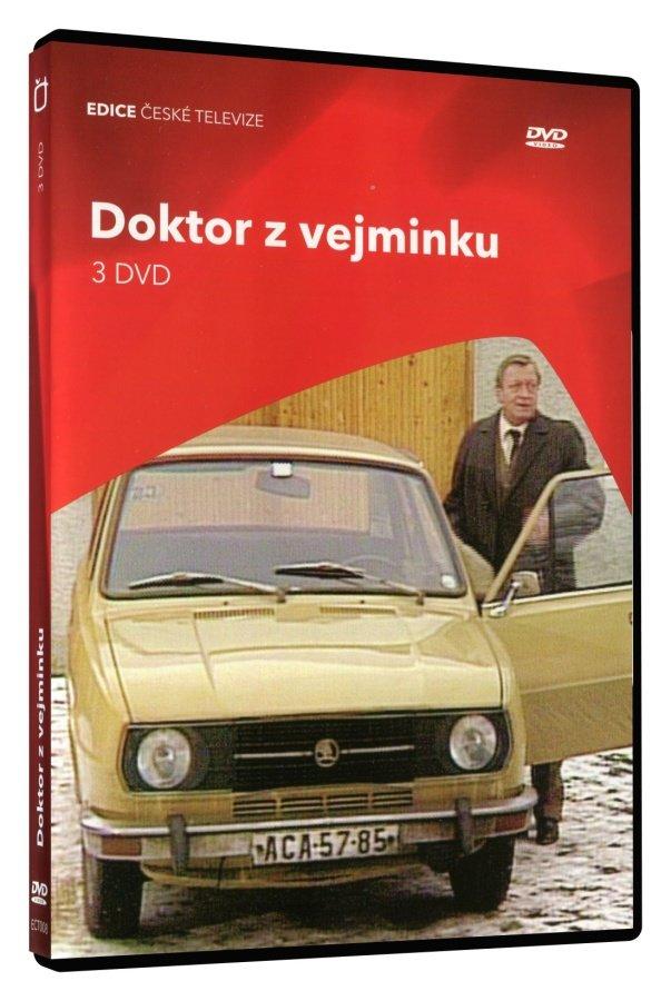Doktor z Vejminku (7 dílů) - 3xDVD
