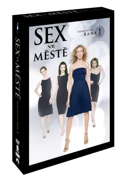 Sex ve městě 1. sezóna - 2xDVD (12 dílů)