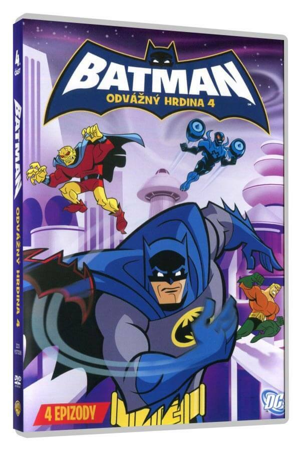 Batman: Odvážný hrdina 4 (DVD)