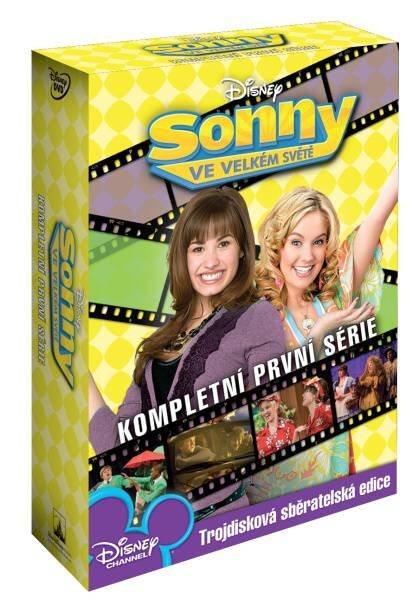 Sonny ve velkém světě 1. série - 3xDVD (21 dílů)