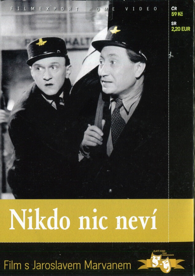 Nikdo nic neví (DVD) (papírový obal)