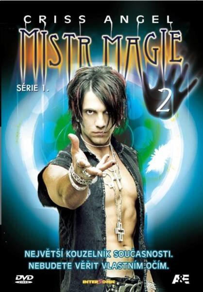 Criss Angel - Mistr magie 1. série - DVD 2 (papírový obal)