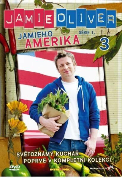 Jamie Oliver - Jamieho Amerika 3 (DVD) (papírový obal)