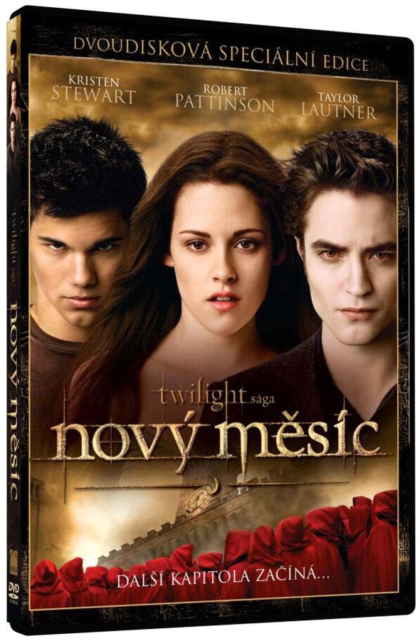 Nový měsíc: Twilight sága S.E. - 2xDVD