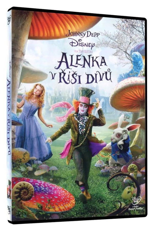 Alenka v říši divů (DVD)