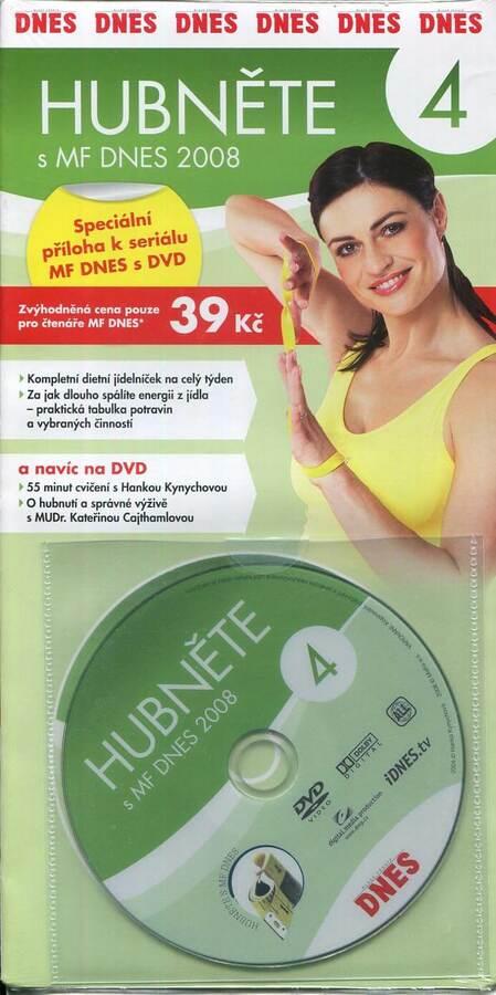 Hubněte s MF DNES 4 (DVD) (papírový obal)