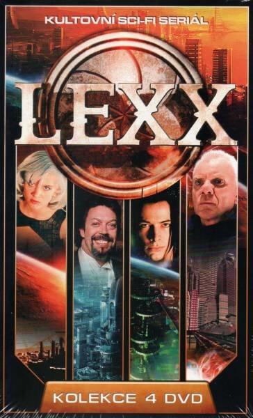 Lexx KOMPLET - 4xDVD (papírový obal)