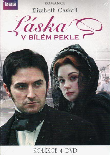 Láska v bílém pekle (4 DVD) (papírový obal) - seriál
