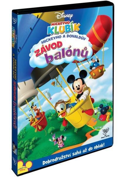 Mickeyho klubík: Mickeyho a Donaldův závod balónů (DVD)