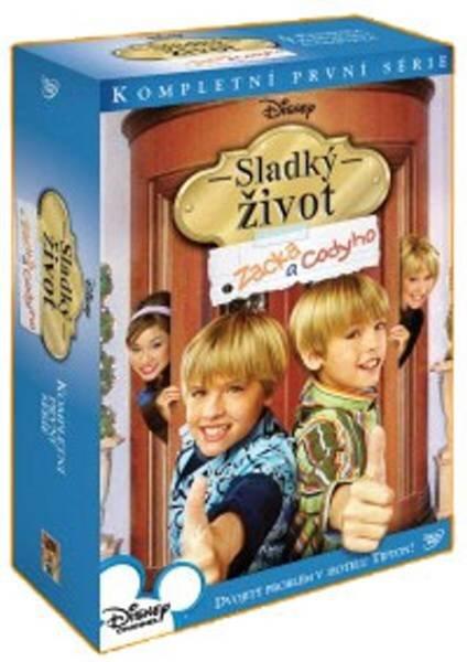 Sladký život Zacka a Codyho 1. série 4xDVD