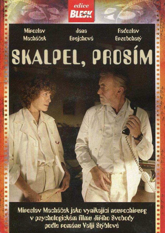 Skalpel, prosím (DVD) (papírový obal)