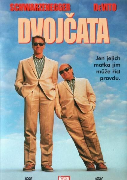 Dvojčata (DVD) (papírový obal)
