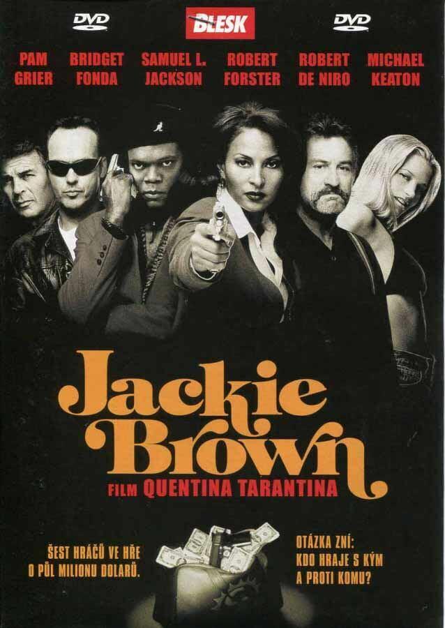 Jackie Brown (DVD) (papírový obal)