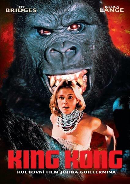King Kong (1976) (DVD) (papírový obal)