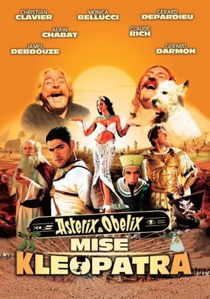 Asterix a Obelix: Mise Kleopatra (DVD) (papírový obal)
