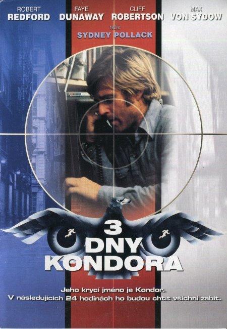 3 dny kondora (DVD) (papírový obal)